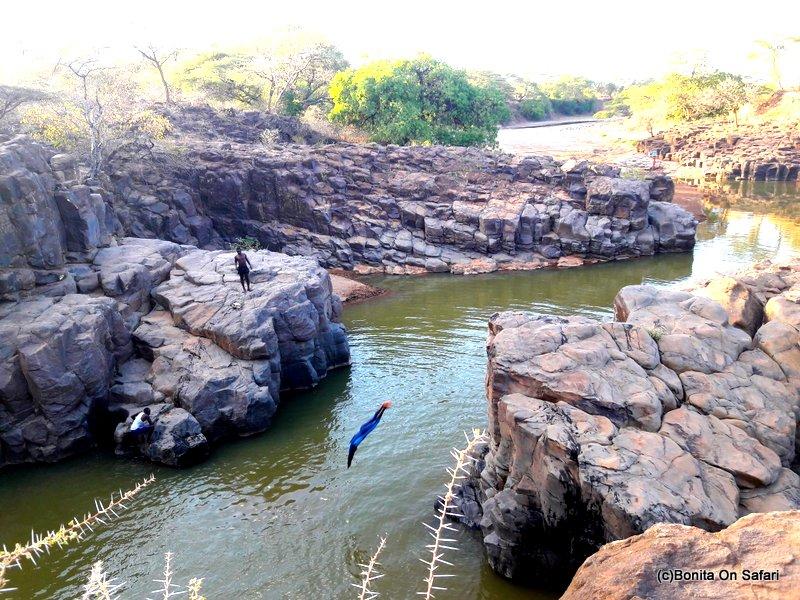 The crocodile scarers of Chebloch Gorge-Elgeyo Marakwet(Kenya)