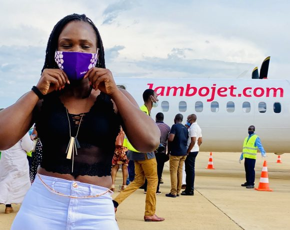 #Nowtravelready Bonita on safari Jambojet