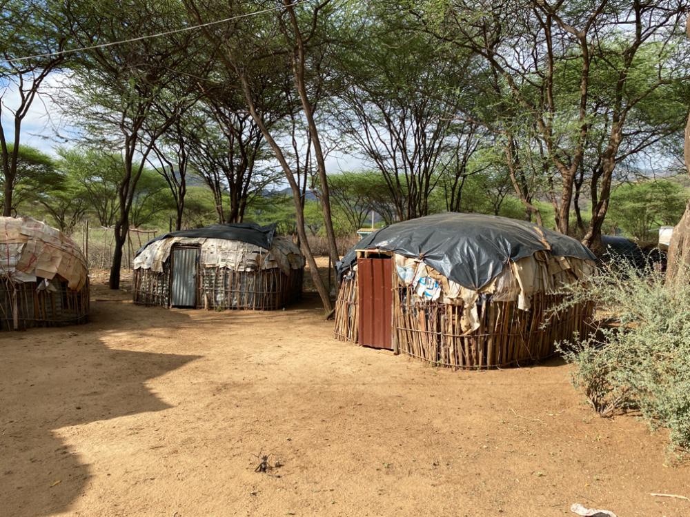 The Manyattas at Golbo guest house.