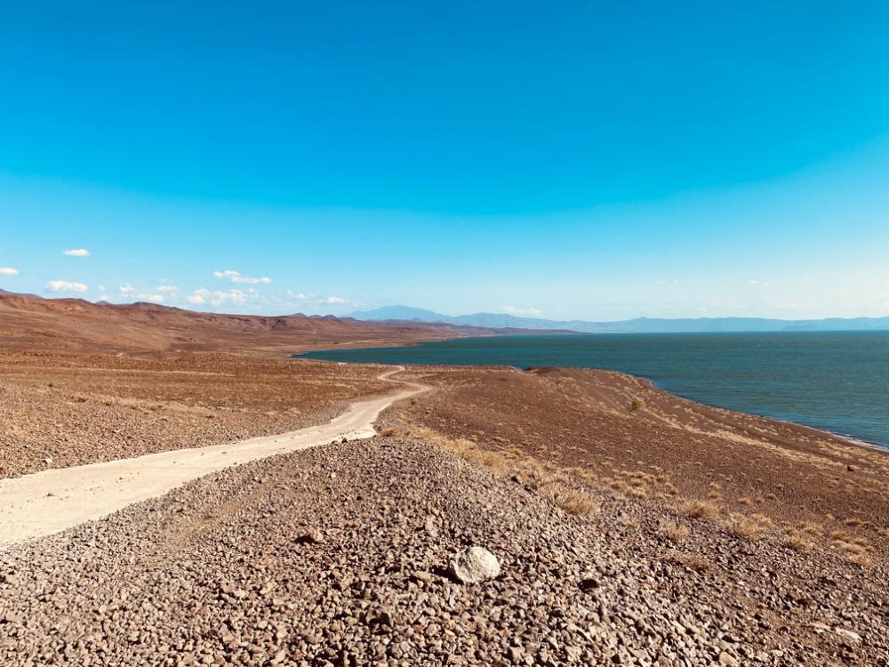 Lake Turkana in Loiyangalani