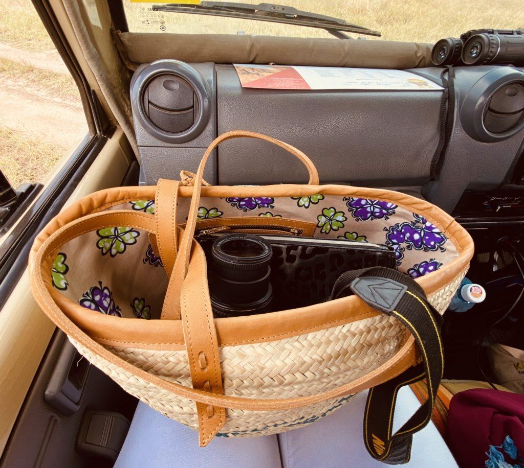 The maasai mara migration in a hot air balloon by Bonita on safari Nyabndo baskets
